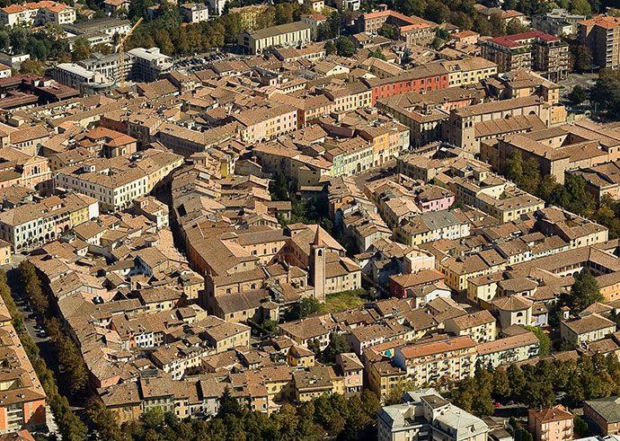 Centro storico - foto aerea